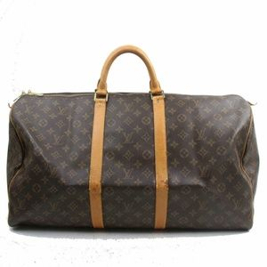 Auth Louis Vuitton Keepall 55 Travel #1770L26